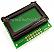 8x2 LCD Module Green Backlight