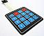 4x4 Matrix Keypad with Printed Numbers
