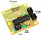 P10 Display Based Moving Message Controller Board with Keyboard