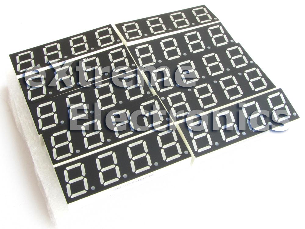 Multiplex Seven Segment Display Module