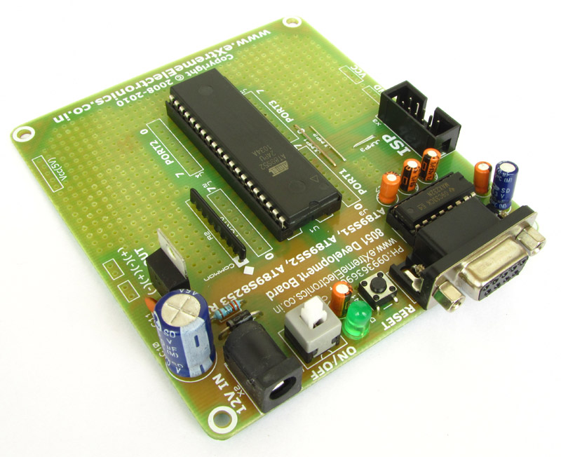 easy 8051 development kit    development boards    extreme