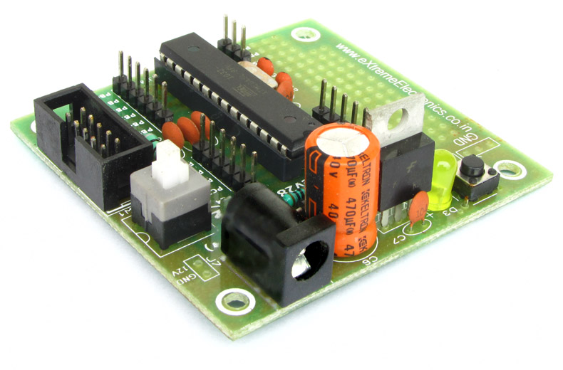buy atmega8 avr development board lowest price in india with cash on rh store extremeelectronics co in