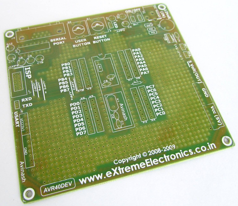 Avr Programmer Board