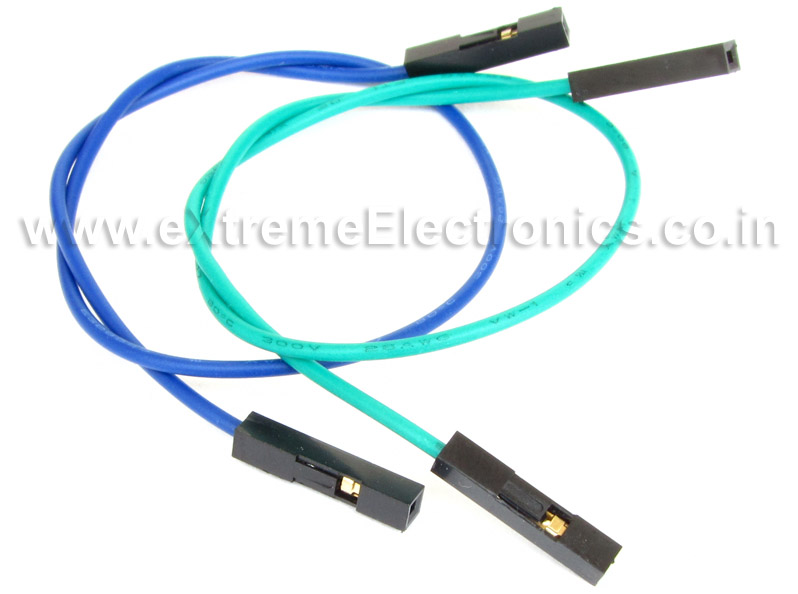 Single Pin F/F Burg Wires :: Connecters :: eXtreme Electronics