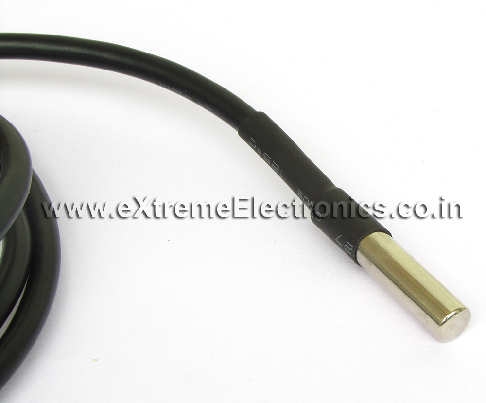 DS18B20 Temperature Probe :: Sensors :: eXtreme Electronics
