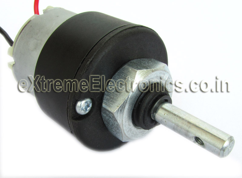 12v Dc Gear Motor 100 Rpm Center Shaft Gear Motor