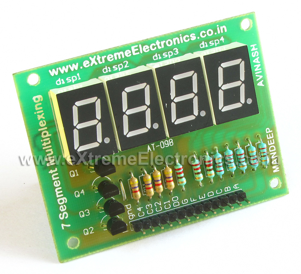 A Bidirectional Visitor Counter Using Avr Atmega16 Robot Microcontroller Atmega 8 Circuit Diagram Code 40 Pin Development Board Programmer With Usb Interface Multiplexed Seven Segment Display