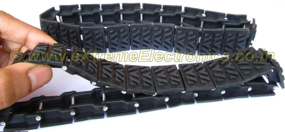 Tracked Wheel Set Wheels Robotics Extreme Electronics