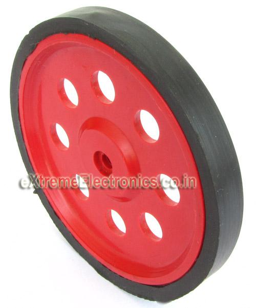 Plastic Wheel 6 8cm X 0 8cm Wheels Robotics Extreme