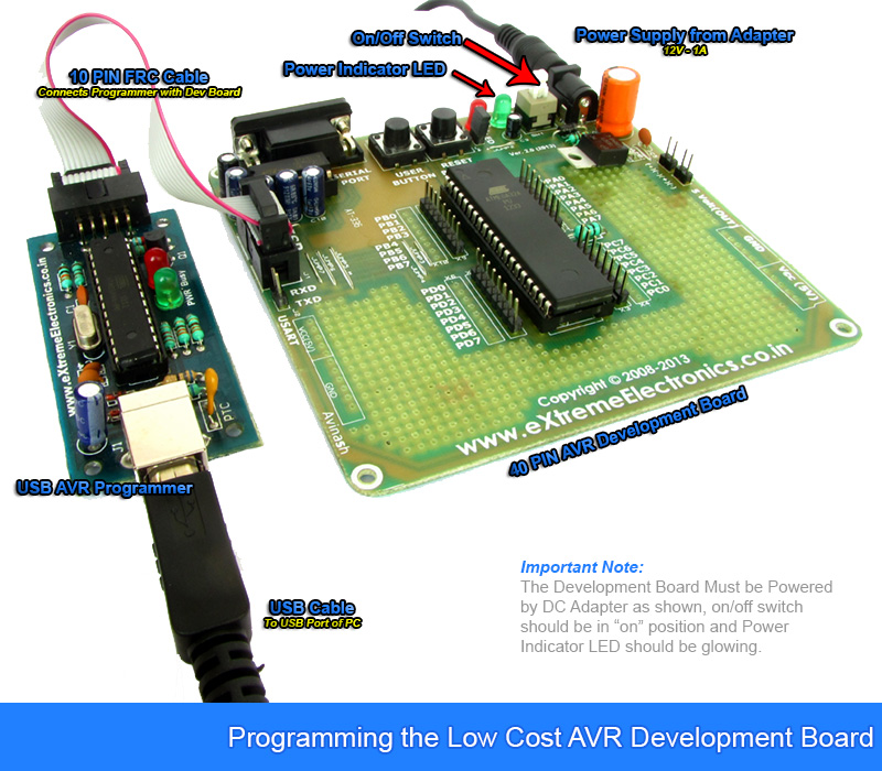 buy 40 pin avr development board lowest cost in cash on program uploading low cost 40 pin avr dev board schematic
