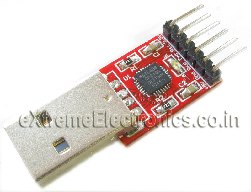 eXtreme Electronics :: Communication :: USB to USART :: USB to ...