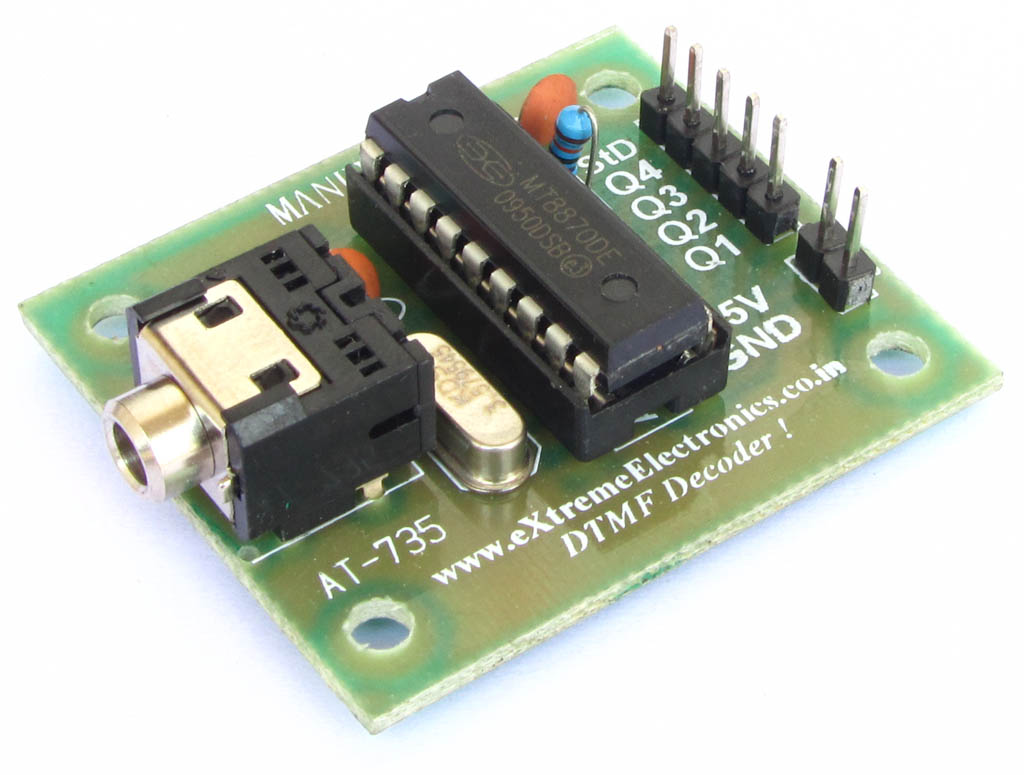 DTMF Decoder MT8870D Based