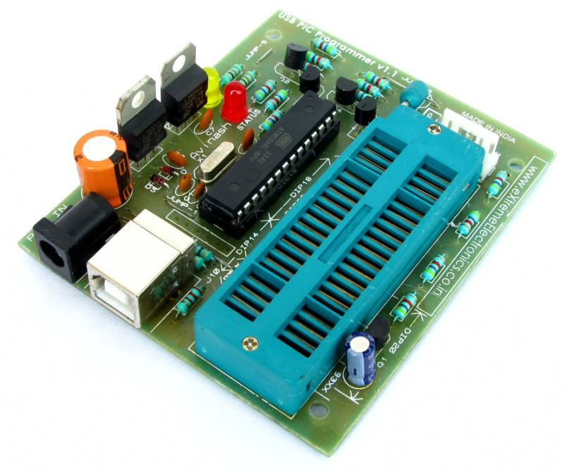 buy usb pic microcontroller programmer low cost in india