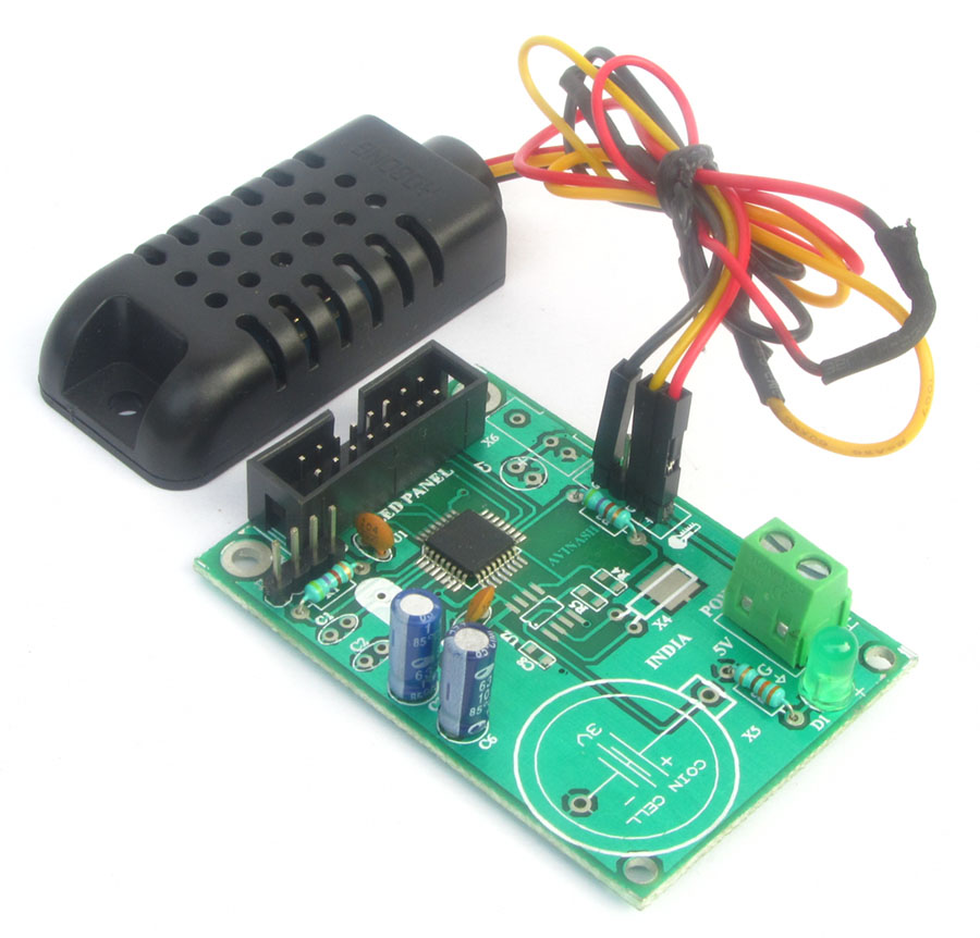 buy p10 based humidity and temperature display controller. Black Bedroom Furniture Sets. Home Design Ideas