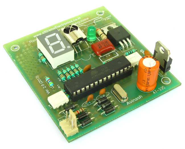 Buy Remote Controlled Fan Speed Regulator Lowest Cost In