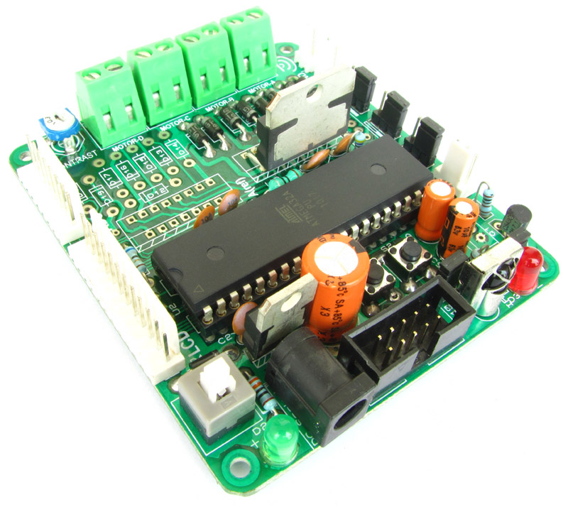 avr development board for atmega16 atmega32 with lcd motor driver rh store extremeelectronics co in