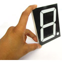 4 Inch Seven Segment Display - CA - RED