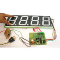 Big 4 Inch 4 Digit LED Display System using ATmega8