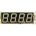 4 Digit 4 Inch Seven Segment Display - CA - RED