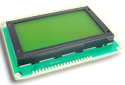 Graphic LCD - 128x64 Green B/L