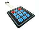 4x3 Matrix Keypad Printed
