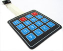 4x4 Matrix Keypad Printed