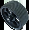 Plastic Wheel - 10.5cm x 4.2cm
