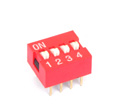 DIP Switch 4 Way