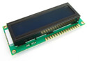 16x2 Character LCD Module Blue Backlight