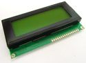 20x4 Character LCD Module Green Backlight