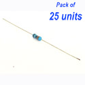 25 x Resistor (MFR) 33R 1/4w