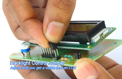 backlight control of lcd
