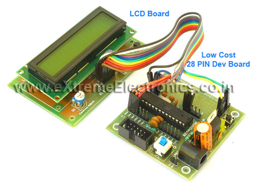 lcd interface with atmega8