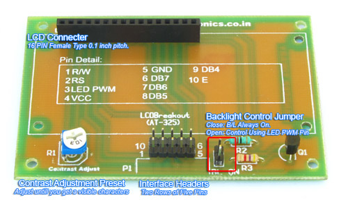 LCD Interface with AVR ATmega8