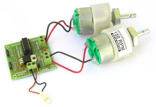 motor board power supply