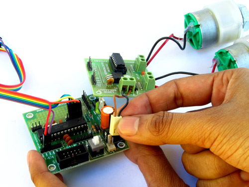 motor board power supply