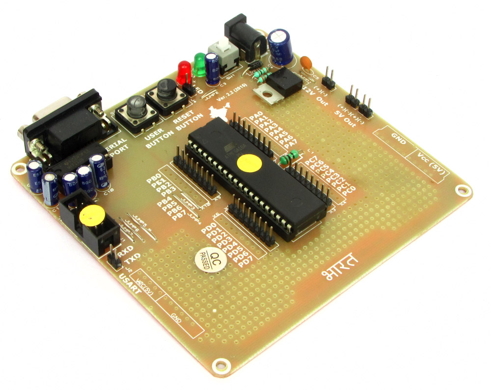 Buy 40 Pin Avr Development Board Lowest Cost In India With Cash On Atmel Mcu Family Expanded Main View